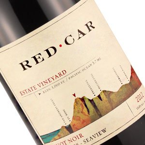 Red Car 2013 Estate Pinot Noir Fort Ross - Seaview, Sonoma County
