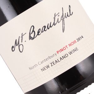 Mt. Beautiful 2014 Pinot Noir North Canterbury, New Zealand