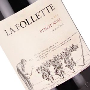 La Follette 2014 Pinot Noir, North Coast