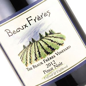 Beaux Freres 2012 Pinot Noir, Beaux Freres Vineyard, Willamette Valley