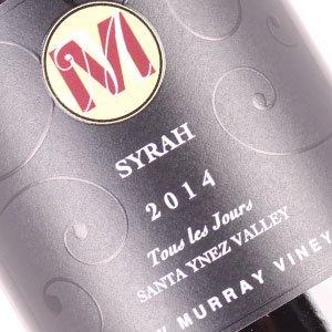 Andrew Murray 2014 Syrah 'Tous les Jours' Santa Ynez Valley