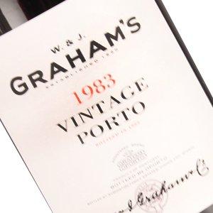 Graham's 1983 Vintage Porto, Portugal