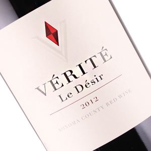 "Verite 2012 ""Le Desir"", Sonoma County Red Wine"
