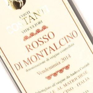 Costanti 2014 Rosso Di Montalcino Tuscany