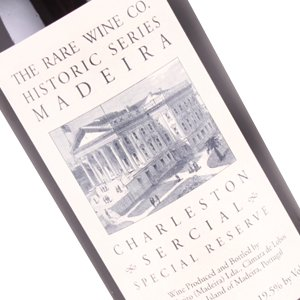 Charleston Sercial Special Reserve, The Rare Wine Co. Historic Series Madeira