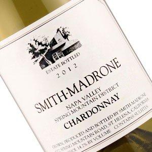 Smith-Madrone 2012 Chardonnay Spring Mountain District, Napa Valley