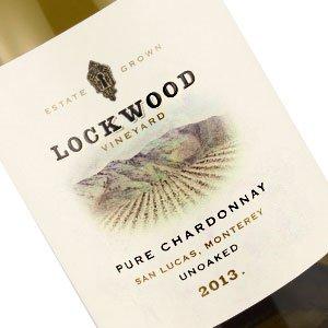 Lockwood 2013 Chardonnay, Unoaked San Lucas, Monterey
