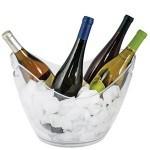 """Acrylic Wine Bucket """"Salsa"""""""