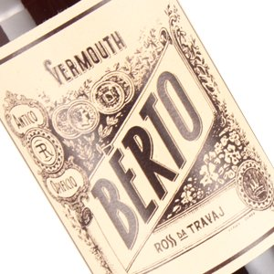 Berto NV Ross Da Travaj Vermouth, Italy