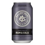 """Ballast Point  """"Three Sheets"""" Rum & Cola Premixed Cocktail, California - Can"""