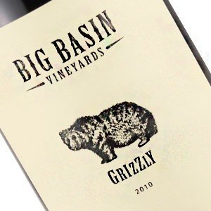 Big Basin 2010 Grizzly GSM Grenache-Syrah-Mourvedre , Santa Cruz Mountains