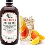 Bittermilk No. 5 Charred Grapefruit Tonic with Bulls Bay Sea Salt Mixer, South Carolina