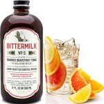 Bittermilk No. 5 Charred Grapefruit Tonic with Bulls Bay Sea Salt, South Carolina