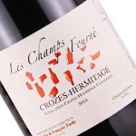 """Charles & Francois Tardy 2014 """"Les Champs Fourne"""" Crozes-Hermitage, Rhone"""