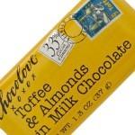 Chocolove Mini Toffee Almonds Milk Chocolate Bar, Boulder