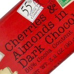 Chocolove Mini Cherries / Almond Chocolate Bar, Boulder