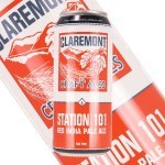 """Claremont Craft Ales """"Station 101"""" Red IPA, California"""