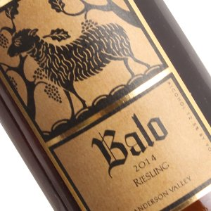 Balo 2014 Riesling, Anderson Valley
