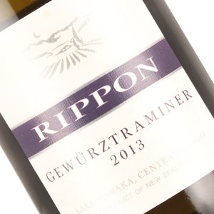 Rippon 2013 Gewurztraminer Central Otago New Zealand