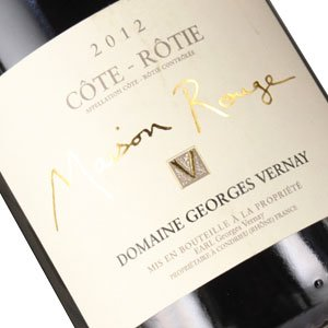"Domaine Georges Vernay 2012 Cote-Rotie ""Maison Rouge"