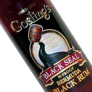 Gosling's Black Seal Dark Rum, Bermuda - 1 Liter