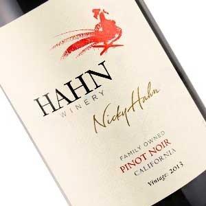 """Hahn 2016 """"Nicky Hahn"""" Pinot Noir, Central Coast"""