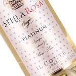 Il Conte d' Alba Stella Rosa Platinum Semi-Sweet White Wine, Piedmont