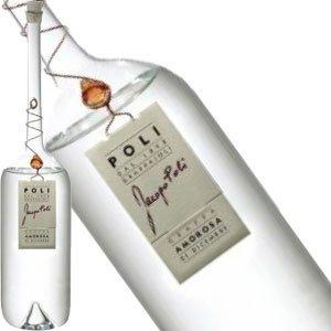 Jacopo Poli Torcolato Grappa in Murano Bottle, Italy - Half Bottle