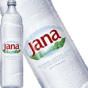 Jana Natural Artesian Water, Croatia 750 ml glass