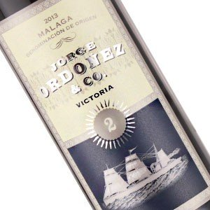 "Jorge Ordonez & Co. 2013 ""Victoria #2"" Malaga Unfortified Sweet Muscat, Spain - Half Bottle"