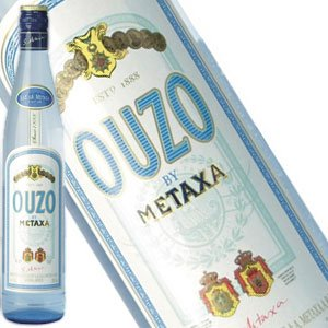 Metaxa Ouzo Greek Liqueur, Greece