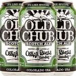 """Oskar Blues """"Old Chub"""" Scotch Ale, Colorado - Can"""