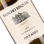 Rancho Sisquoc 2016 Sylvaner, Santa Barbara County