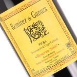 Remirez de Ganuza 2007 Rioja Reserva