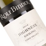 "Rolf Binder 2014 ""Highness"" Riesling Eden Valley Australia"