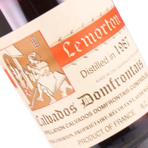Lemorton Calvados Domfrontais 1987, Calvados