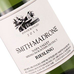 Smith-Madrone 2013 Riesling, Spring Mountain, Napa Valley