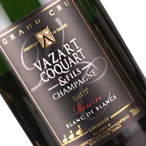 Vazart Coquart & Fils Blanc de Blancs Brut Reserve, Chouilly, Champagne