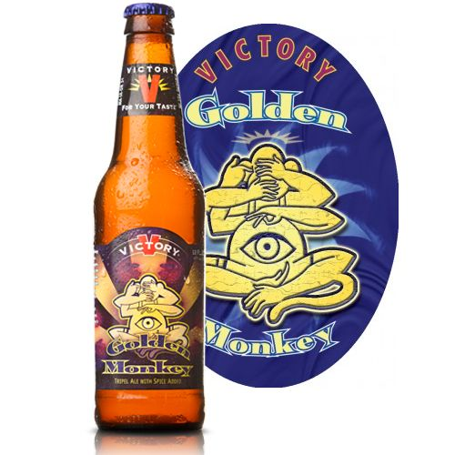 "Victory Brewing ""Golden Monkey"" Tripel Ale, Pennsylvania"