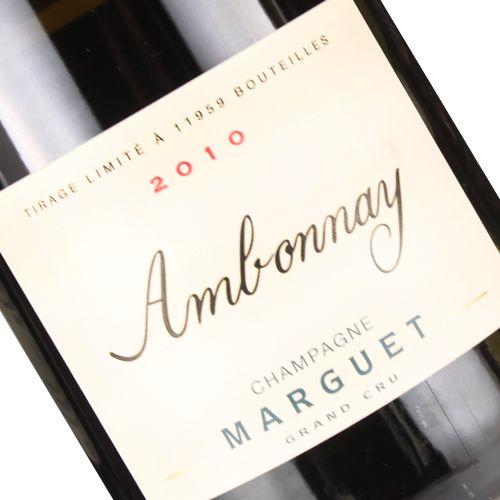 Marguet 2010 Ambonnay Grand Cru, Champagne