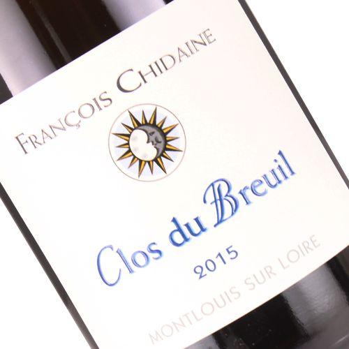 """Francois Chidaine 2015 """"Clos du Breuil"""", Montlouis Sur Loire"""