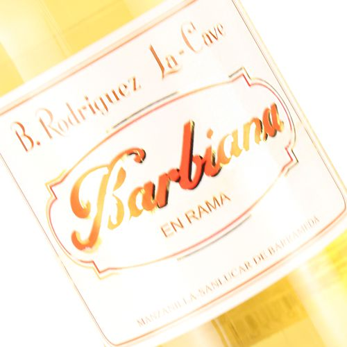 Barbiana Manzanilla En Rama Sherry, 750ml