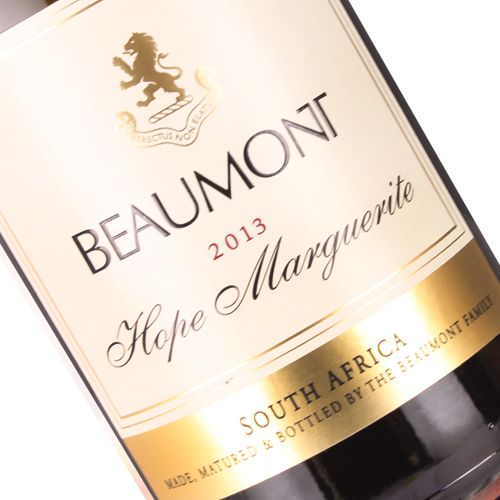 """Beaumont 2013 """"Hope Marguerite"""" Chenin Blanc, South Africa"""