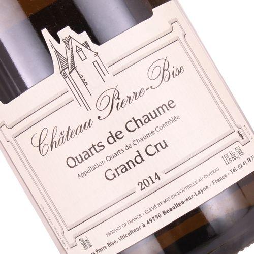 Chateau Pierre-Bise 2014 Quarts de Chaume  Grand Cru, Chenin Blanc, Loire Valley Sweet Wine 500 ml