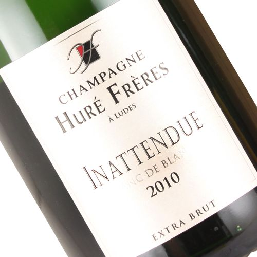 "Hure Freres 2010 Blanc de Blancs ""Inattendue"" Champagne Extra Brut"