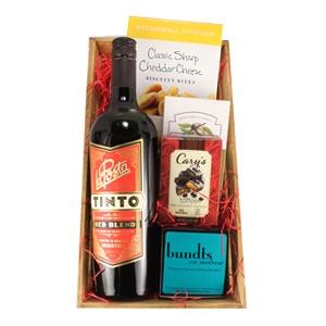 Famous Single La Posta Red Wine Gift Basket