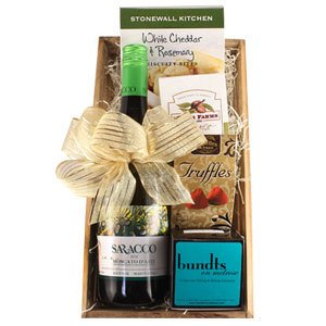 Famous Single Saracco Gift Basket