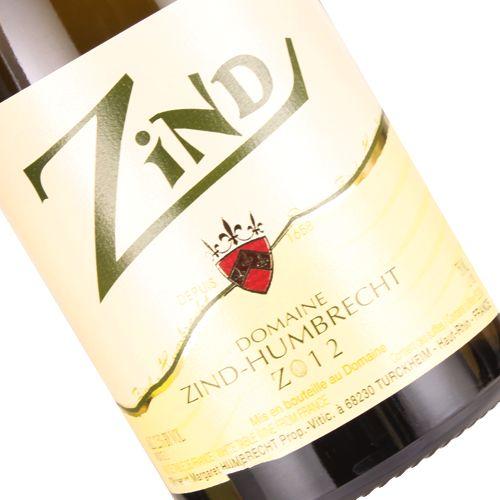 "Domaine Zind-Humbrecht 2012 ""Zind"" White Blend, Alsace"