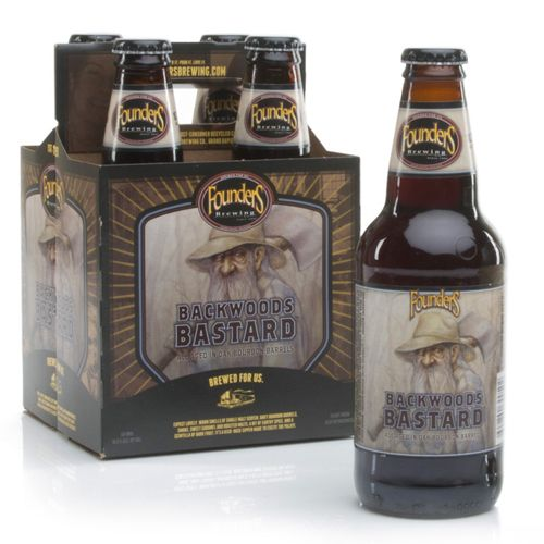 "Founders Brewing ""Backwoods Bastard"" Scotch Barrel-Aged Ale, Michigan"