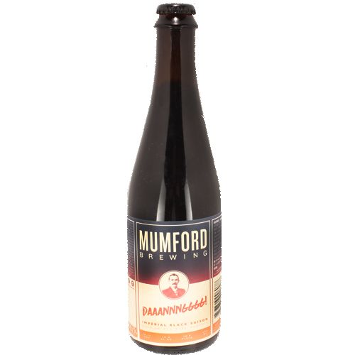 Mumford Brewing Daaannnggg! Imperial Black Saison,